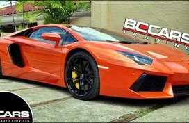 2nd Hand Lamborghini Aventador 2014 Coupe for sale in Quezon City