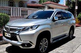 Selling Mitsubishi Montero 2018 Manual Diesel in Marikina