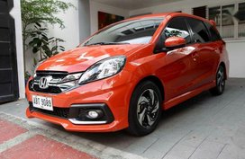 Selling 2nd Hand Honda Mobilio 2015 in Malabon