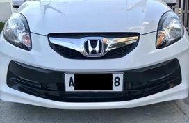 Sell White 2015 Honda Brio at 41000 km in Cavite