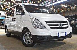 White 2017 Hyundai Grand Starex for sale in Quezon City