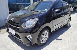 Black 2017 Toyota Wigo Automatic Gasoline for sale in Metro Manila