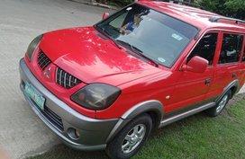 Selling Red Mitsubishi Adventure 2009 at 103000 km