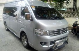 Selling 2016 Foton View Traveller Van for sale in Quezon City