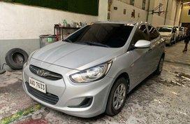 Selling Hyundai Accent 2014 Manual Gasoline in Quezon City