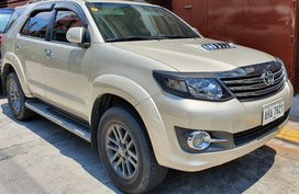 Selling Used Toyota Fortuner Automatic Diesel in Manila