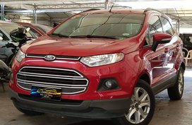 Red 2015 Ford Ecosport Automatic for sale in Makati