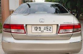 Selling 2nd Hand Honda Accord 2004 at 154000 km in Pampanga