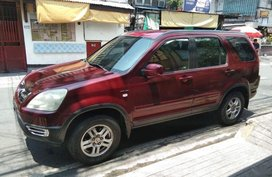 Sell 2nd Hand 2003 Honda Cr-V SUV Automatic Gasoline at 111000 km in Pasig