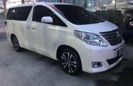 Selling Toyota Alphard 2015 Automatic Gasoline in Manila