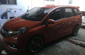 Sell 2nd Hand 2016 Honda Mobilio Automatic Gasoline at 20000 km in Manila