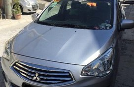 Selling 2nd Hand Mitsubishi Mirage G4 2015 Manual Gasoline at 80000 km in Trece Martires