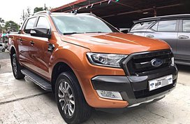 2nd Hand Ford Ranger 2016 Automatic Diesel for sale in Mandaue