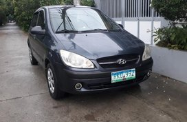 Selling Gray Hyundai Getz 2011 in Cabanatuan