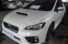 White Subaru Wrx 2016 Automatic for sale