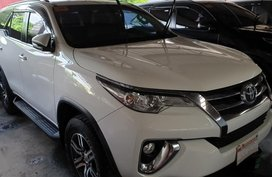 Sell White 2017 Toyota Fortuner in Quezon City