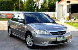 Selling 2nd Hand Honda Civic 2004 Automatic Gasoline at 130000 km in San Pablo