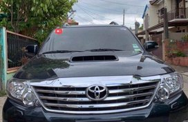 2nd Hand Toyota Fortuner 2015 for sale in Antipolo