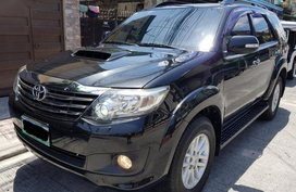 Selling Toyota Fortuner 2013 at 48000 km in Quezon City
