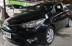 Black Toyota Vios 2015 Manual Gasoline for sale in Quezon City