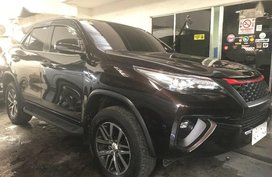 Selling Brown Toyota Fortuner 2018 Automatic Diesel in Quezon City