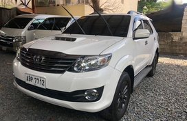 2nd Hand Toyota Fortuner 2016 Manual Diesel for sale in Quezon City