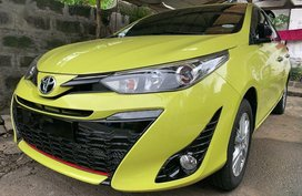 Selling 2018 Toyota Yaris Hatchback for sale in Quezon City
