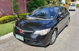 Sell 2nd Hand 2006 Honda Civic Automatic Gasoline at 119000 km in Parañaque