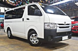 Sell 2016 Toyota Hiace Diesel Manual at 27000 km in Quezon City