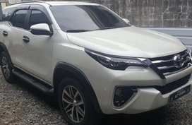 Selling 2nd Hand Toyota Fortuner 2018 Automatic Diesel at 4000 km in Malabon