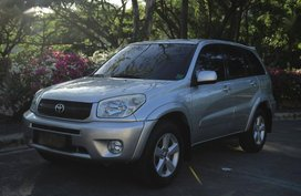 Selling 2nd Hand Toyota Rav4 2004 in Cebu City
