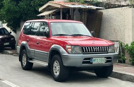 Selling 2nd Hand Toyota Land Cruiser Prado 1998 in Quezon City