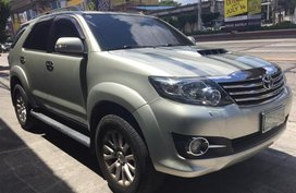 2nd Hand Toyota Fortuner 2013 at 60000 km for sale in Quezon City