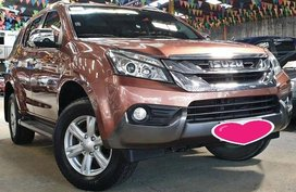 2nd Hand Isuzu Mu-X 2015 Automatic Diesel for sale in Antipolo