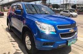 2nd Hand Chevrolet Trailblazer 2013 Manual Diesel for sale in Quezon City