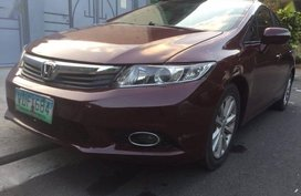 Selling Honda Civic 2013 Automatic Gasoline in Quezon City