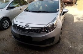 Selling Kia Rio 2014 Sedan Automatic Gasoline in Mandaue