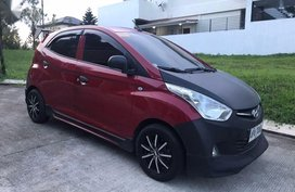 Red Hyundai Eon 2013 Manual Gasoline for sale in Las Piñas