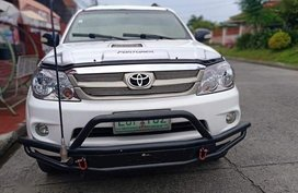 Selling Toyota Fortuner 2008 at 110000 km in Davao City