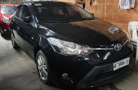 Sell Black 2016 Toyota Vios in Quezon City