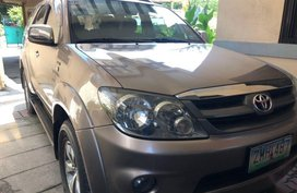 2nd Hand Toyota Fortuner 2008 Automatic Diesel for sale in Plaridel