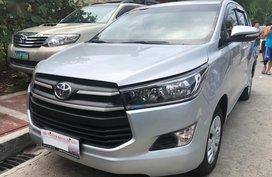 Silver Toyota Innova 2018 for sale in Quezon City