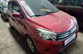Selling Red Suzuki Celerio 2018 at 15000 km in Makati