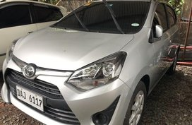 Silver Toyota Wigo 2019 at 3000 km for sale in Quezon City