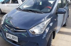 Selling Hyundai Eon 2016 Manual Gasoline at 27000 km in Mandaue