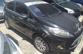 Black Ford Fiesta 2012 Automatic for sale