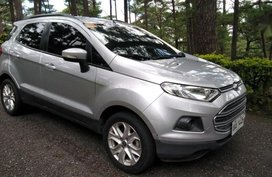 Sell 2nd Hand 2015 Ford Ecosport Manual Gasoline at 43000 km in Baguio