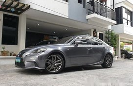 Grey Lexus Is 350 2014 Automatic Gasoline for sale
