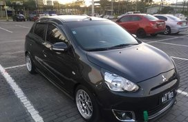 Selling Used Mitsubishi Mirage 2013 Hatchback at 29000 km