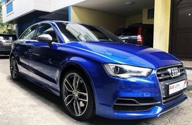 Blue 2016 Audi S3 at 5000 km for sale
